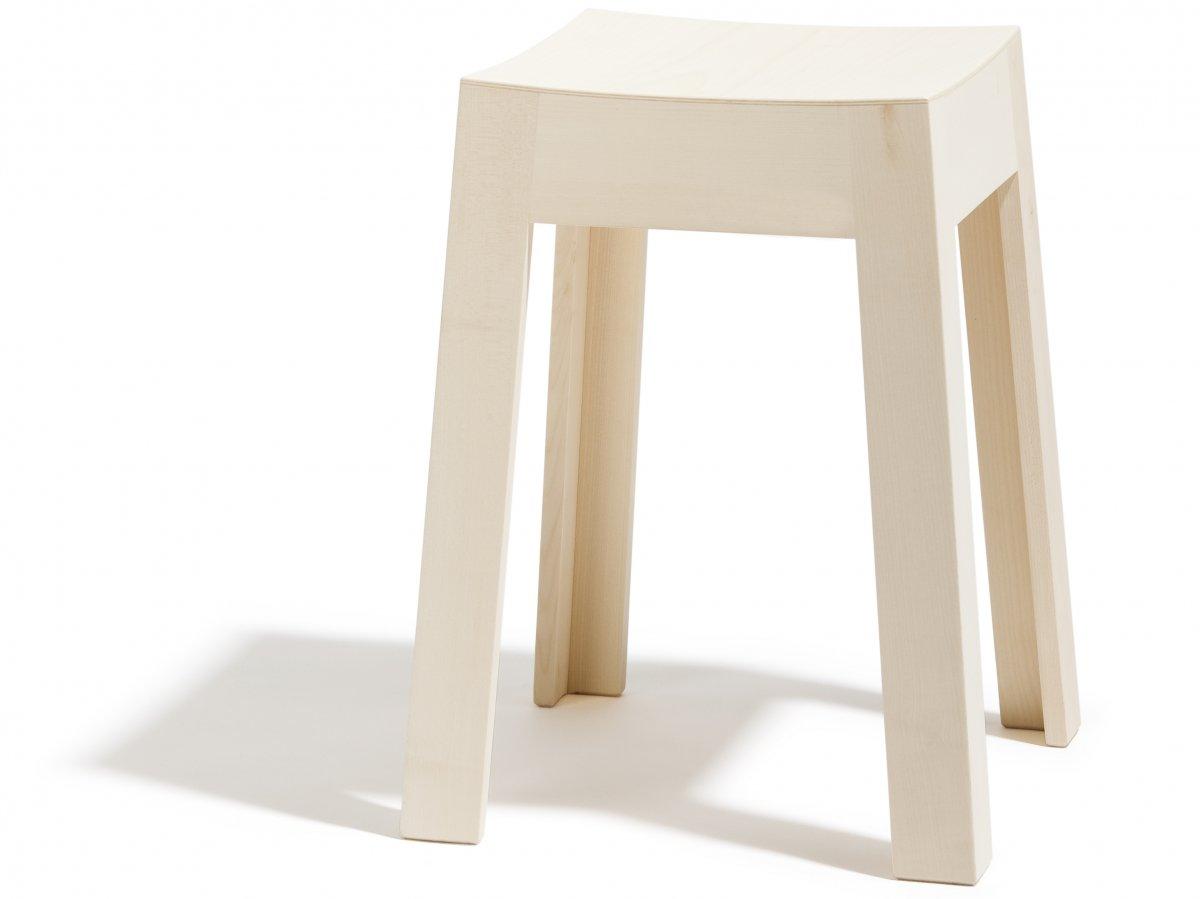 tabouret miniwak en rable bois et design made in france delavelle. Black Bedroom Furniture Sets. Home Design Ideas