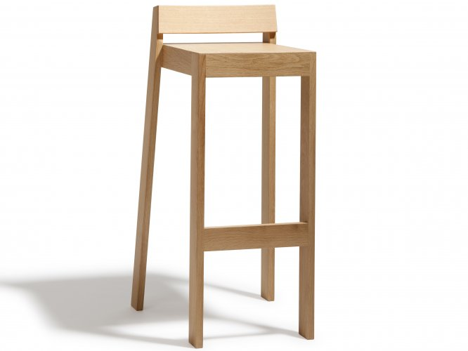 Tabouret Pilpil En Chene Bois Et Design Made In France Delavelle