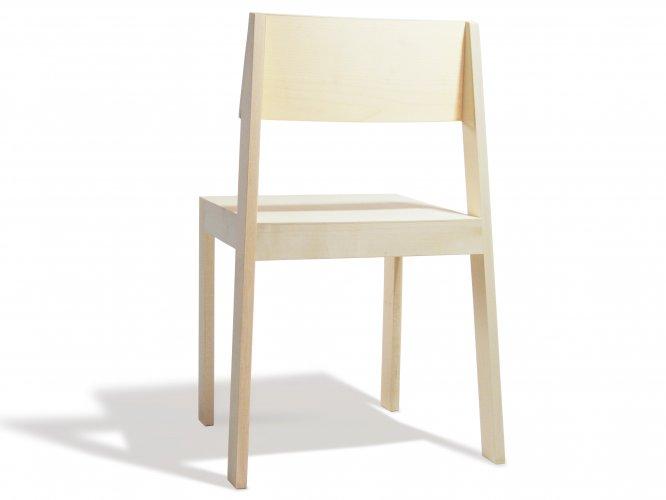 chaise pilpil en rable bois et design made in france delavelle. Black Bedroom Furniture Sets. Home Design Ideas