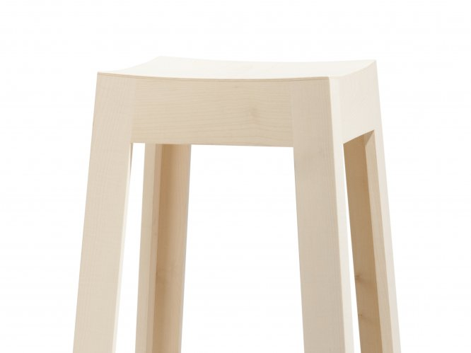 Tabouret wak en rable bois et design made in france - Design ecologique ...
