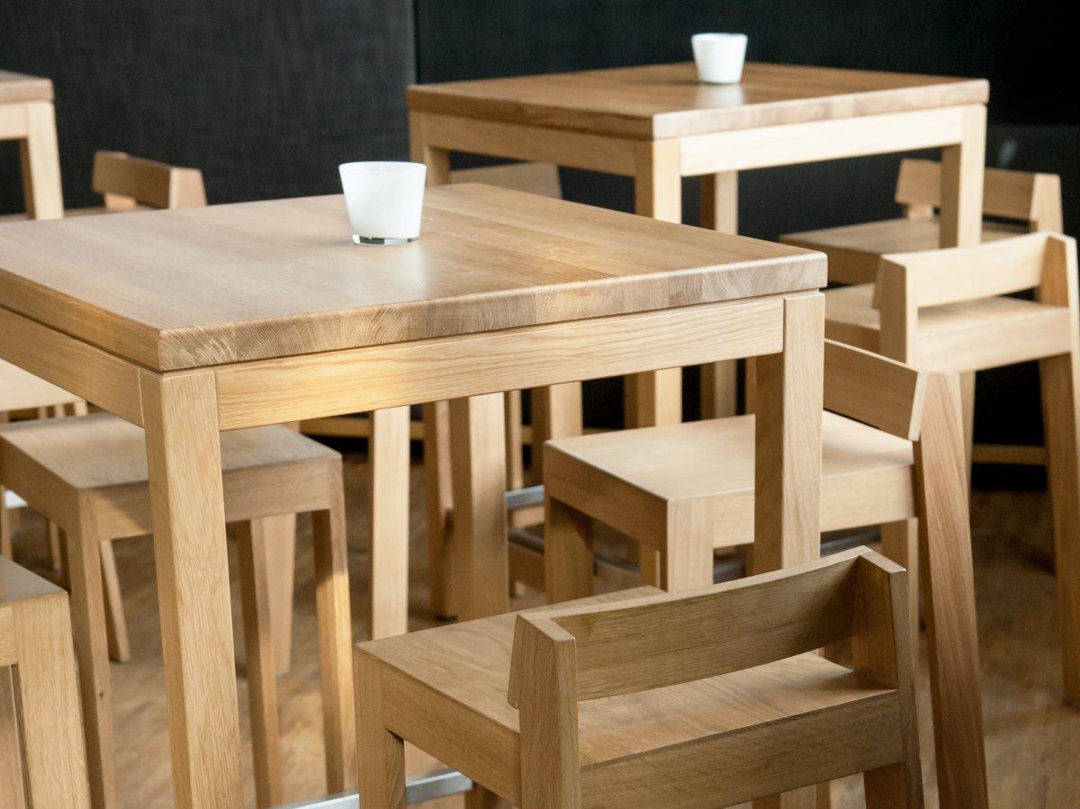 Fabriquer Une Table Haute En Bois tabouret pilpil en chêne - bois et design made in france