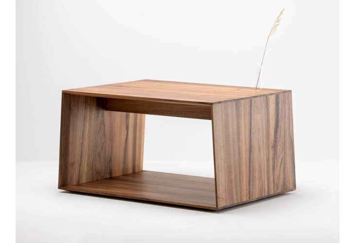 Table basse Anouk en noyer - bois et design made in France