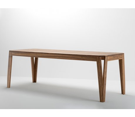 Table MéliMélo en noyer - Bois et design made in France