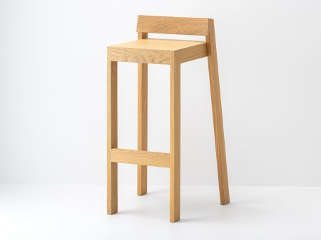 Tabouret pilpil en ch ne bois et design made in france for Table bar en bois