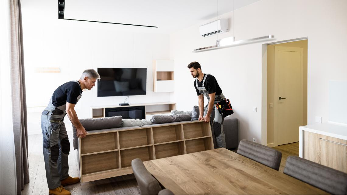 Livraison installation de vos meubles