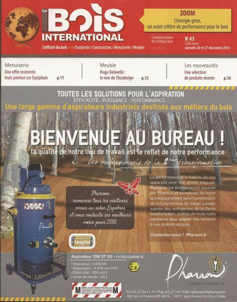 couverture le bois international Décembre 2014