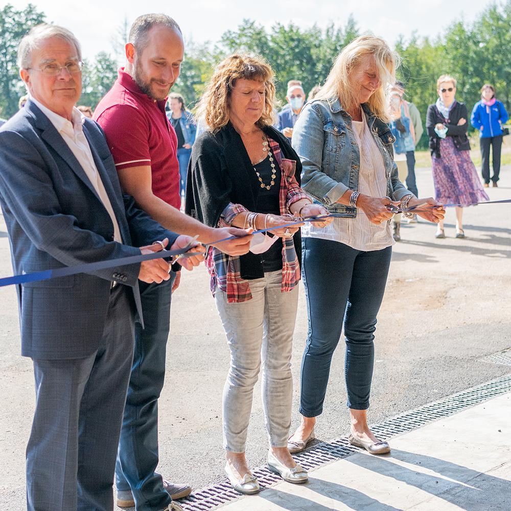 Acquisition du nouvel atelier à Saulnot 2021